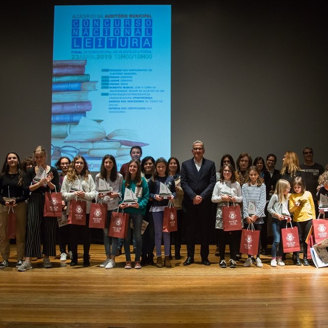 Final Intermunicipal do concurso nacional de leitura - 23 abril 2019